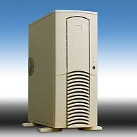 Chieftec Dragon DX-01WD Midi-Tower with door, white (various Power Supplies) (Antec SX1030/SX1040) -- © CWsoft