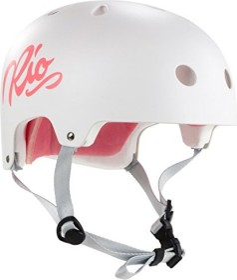 Rio Roller Script Helm weiß
