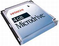 Hitachi Microdrive 3K4 4GB (HMS360604D5CF00/08K2532)
