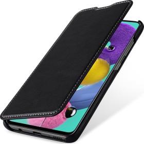 Stilgut Book Type Leather Case Nappa für Samsung Galaxy A51 schwarz (B086PJSB8Q)