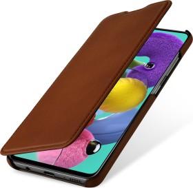 Stilgut Book Type Leather Case für Samsung Galaxy A51 braun (B086PFF8Q7)