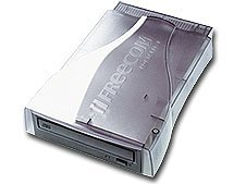Freecom Portable II CD-RW 40x/12x/40x, Burnproof, Extern