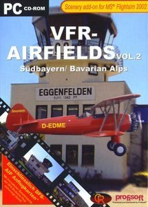 Flight Simulator 2004 - VFR Airfields Vol.2 (Add-on) (deutsch) (PC)