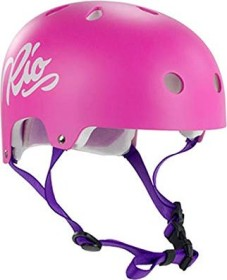 Rio Roller Script Helmet pink
