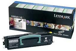 Lexmark Return Toner X203A11G black