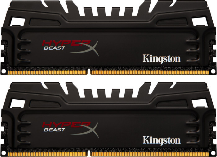 Kingston HyperX Beast DIMM XMP kit 16GB PC3-17066U CL11-12-11 (DDR3-2133) (KHX21C11T3K2/16X)