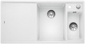 Blanco Axia III 6 S-F InFino basin right white incl. wooden cutting board (523486)