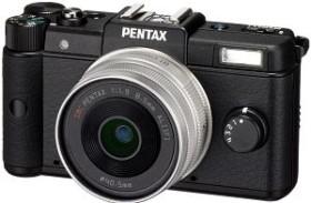 Pentax Q schwarz mit Objektiv 8.5mm 1.9 und 5-15mm 2.8-4.5 (15085)