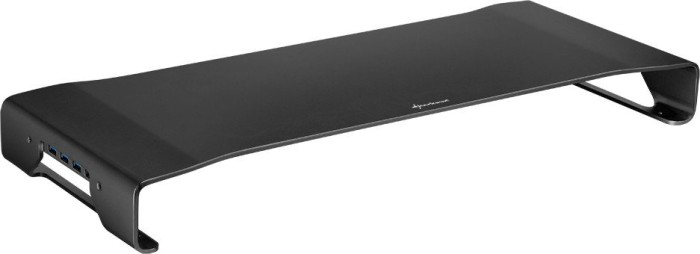 Sharkoon Aluminium Monitor Stand PRO, schwarz (VZLS12)
