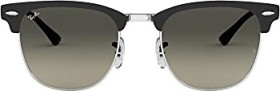 Ray-Ban RB3716 Clubmaster Metal 51mm black/grey gradient (RB3716-911871)
