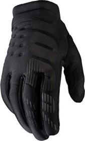 100% Brisker Fahrradhandschuhe schwarz/grau (10016-057)