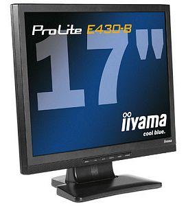 "iiyama ProLite E430-B, 17"", 1280x1024, analog"