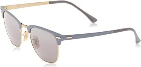 Ray-Ban RB3716 Clubmaster Metal 51mm grey-gold/grey gradient mirror (RB3716-9158AH)