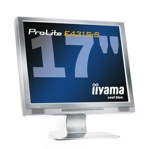"iiyama ProLite E431S-W 16ms, 17"", 1280x1024, VGA, DVI, Audio"