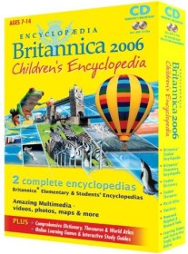 Britannica Encyclopaedia Britannica Child 2006 (German) (PC/MAC)