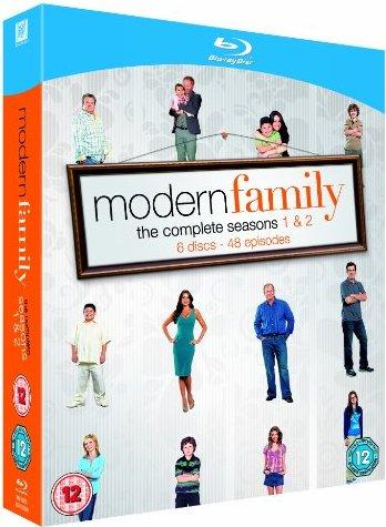 Modern Family Season 1-2 (Blu-ray) (UK) -- via Amazon Partnerprogramm