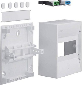 Hager volta small distributor mini surface mounted IP30 (GD106N)