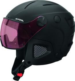 Alpina Attelas Visor QVM Helm schwarz matt (A9090.X.30)