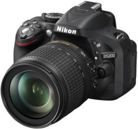 Nikon D5200 schwarz mit Objektiv AF-S DX 18-140mm 3.5-5.6G ED VR (VBA350K008)