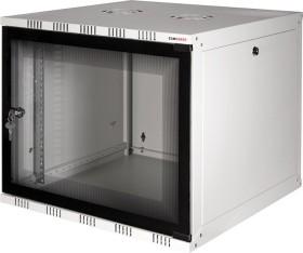 LogiLink Canovate SOHO 6U wallmounting cabinets grey, 400mm deep (W06A40G)