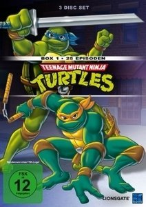 Teenage Mutant Hero Turtles Box 1 (Folgen 1-25)
