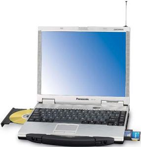 Panasonic Toughbook CF-73, Pentium-M 1.40GHzn (CF-73E3KTXKG)