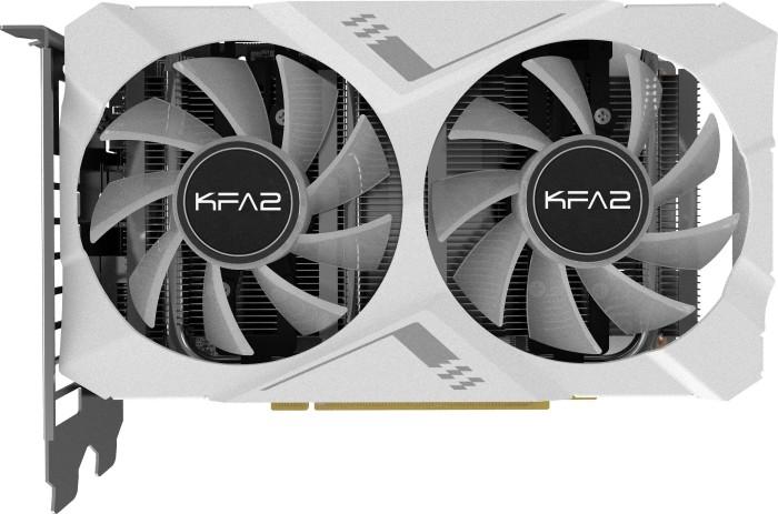 KFA2 GeForce RTX 2060 White Mini [1-Click OC], 6GB GDDR6, DVI, HDMI, DP (26NRL7HPZ7MK)