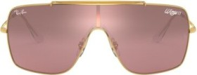 Ray-Ban RB3697 Wings II 135mm gold/silver-pink gradient mirror (RB3697-9050Y2)