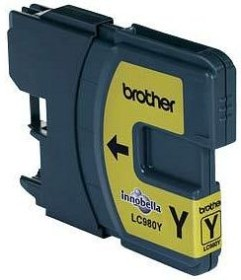 Brother Tinte LC980Y gelb