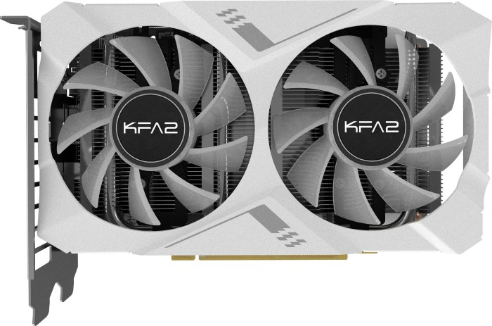 KFA2 GeForce RTX 2070 White Mini [1-Click OC], 8GB GDDR6, DVI, HDMI, DP (27NSL6HPZ7MK)