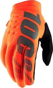 100% Brisker Fahrradhandschuhe fluo orange/black (10016-260)