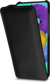Stilgut UltraSlim Nappa für Samsung Galaxy A51 schwarz (B086P6MDDG)