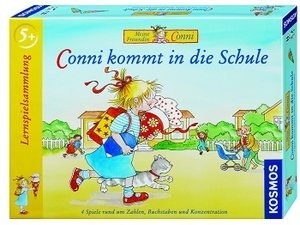 Conni comes in die School