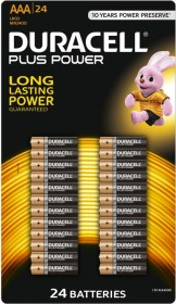 Duracell Plus Power Micro AAA, 36-pack