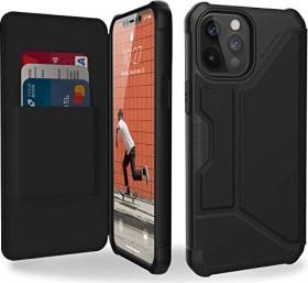 UAG Metropolis Case für Apple iPhone 12 Pro Max SATN ARMR Black (112366113840)
