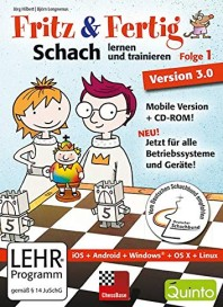 Chessbase Fritz & Fertig! Folge 1: Schach lernen und trainieren (deutsch) (PC)