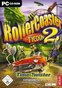 RollerCoaster Tycoon 2 - Time Twister (Add-on) (niemiecki) (PC)