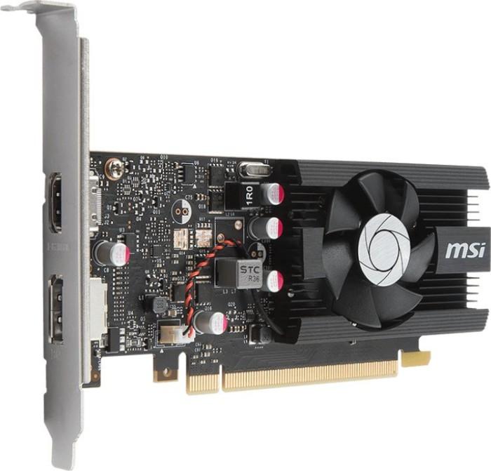 MSI GeForce GT 1030 2G LP OC, 2GB GDDR5, HDMI, DP (V809-2497R)