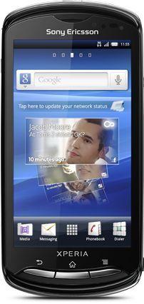 Sony Ericsson Xperia pro with branding