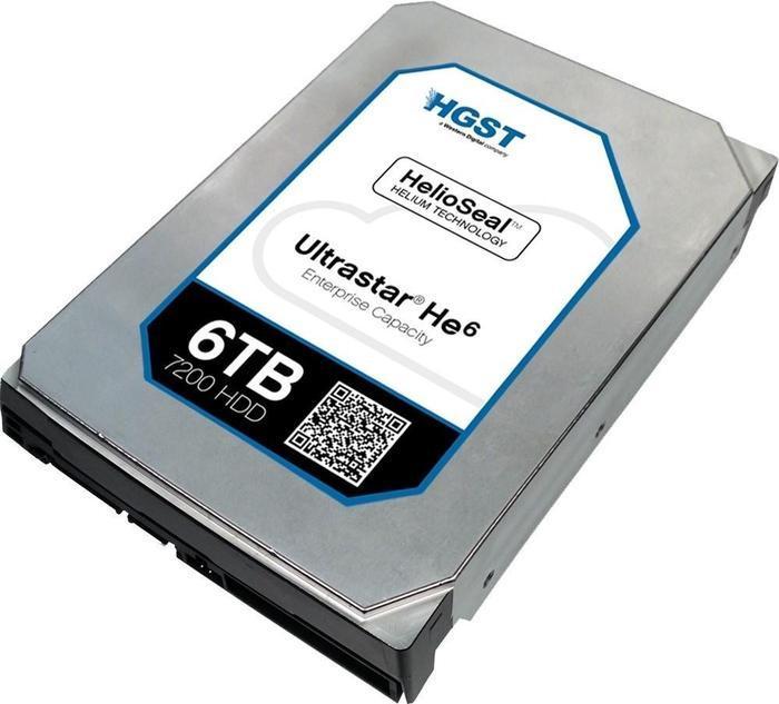 HGST Ultrastar He8 6TB, 512e SE, SATA 6Gb/s (HUH728060ALE604/0F23669)