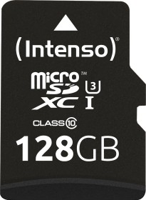 Intenso Professional R90 microSDXC 128GB Kit, UHS-I U1, Class 10 (3433491)