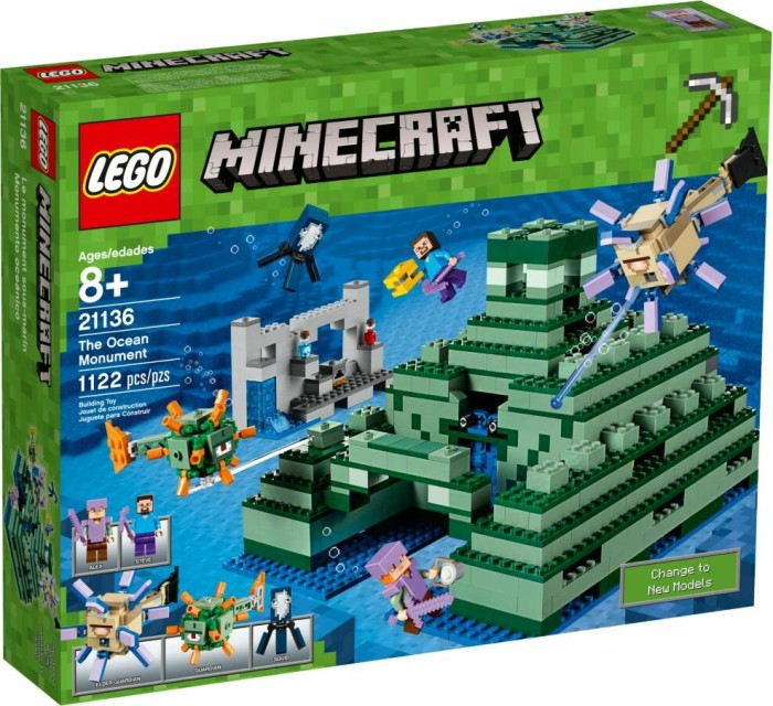 LEGO Minecraft - The Ocean Monument (21136) from £ 101 19