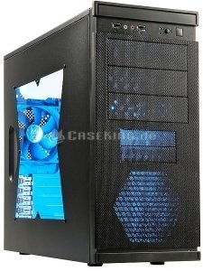 Xigmatek Asgard III black with side panel window, noise-insulated -- (c) caseking.de