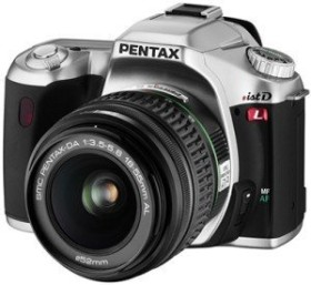 Pentax *istDL silber mit Objektiv DA 18-55mm und DA 50-200mm (1843601)