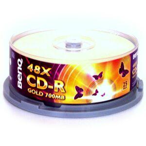 BenQ CD-R 80min/700MB, 25-pack