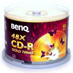 BenQ CD-R 80min/700MB, 50-pack