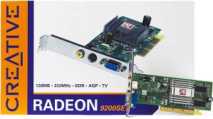 Creative 3D Blaster 5 Radeon 9200SE, 128MB DDR, TV-out, AGP (70GB000002029)