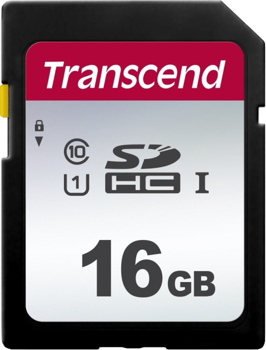 Transcend 300S R95/W45 SDHC 16GB, UHS-I U1, Class 10 (TS16GSDC300S) -- via Amazon Partnerprogramm