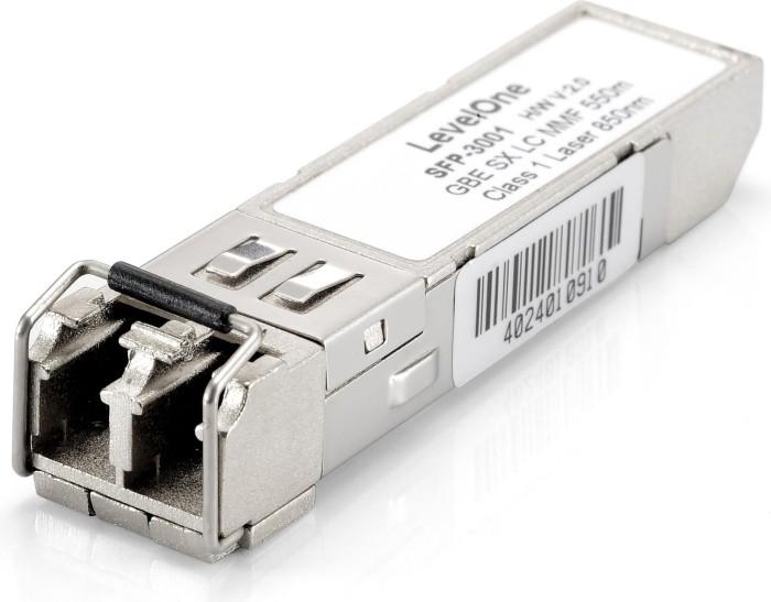 Level One SFP-3000 Gigabit LAN-Transceiver, LC-Duplex MM 500m, SFP (SFP-3001)