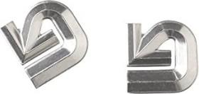 Burton Aluminum Logo Anti-Rutsch-Pad silber (107971)